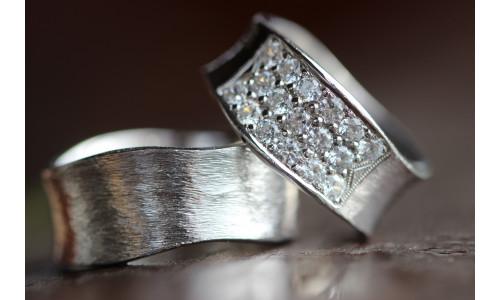 Min Vielsesring profil 7 i sølv (Par Priser)
