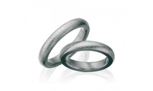 Hjertering i titanium fra 4,0 mm til 10,0 mm T90