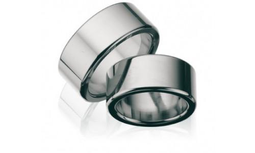 Hjertering i titanium 4,0 mm til 10,0 mm T114