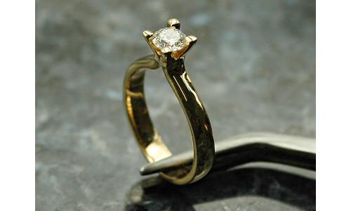 Ring - Jasmina i 14 karat alm. guld Ombytningserier