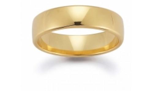 Min vielsesring profil 1 i 8 karat guld