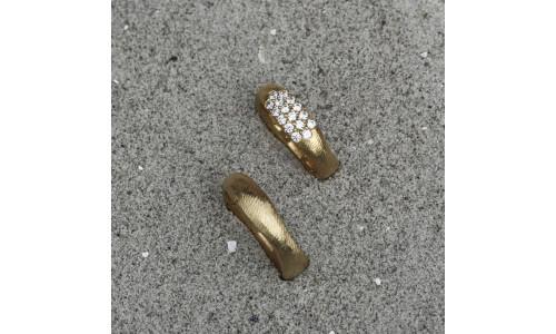 Vielsesringe 14 karat guld (Parpriser se billede) (10/19)