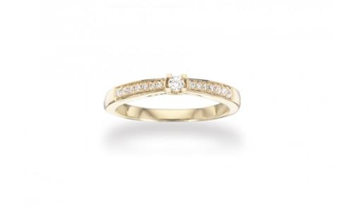 Kleopatra Queen ring i 14 karat   (10/20)